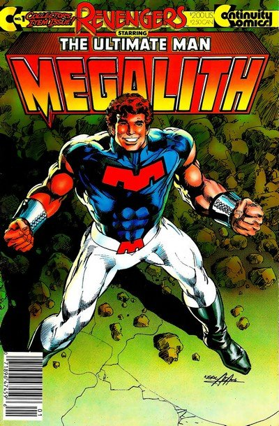 Revengers Featuring Megalith #1 – 6 (1985-1989)