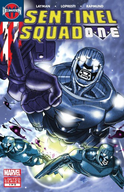 Sentinel Squad ONE #1 – 5 (2006)