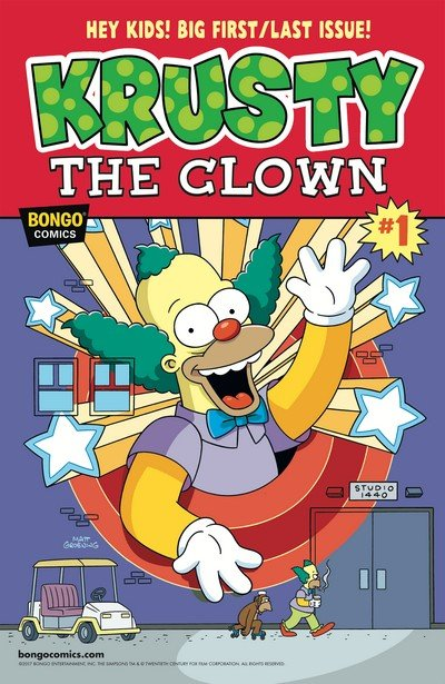 Simpsons One-Shot Wonders – Krusty #1 (2017)