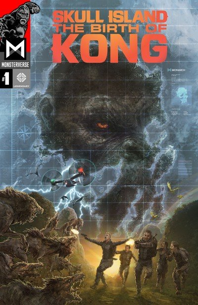Skull Island – The Birth Of Kong #1 (2017)