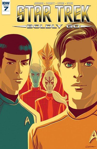 Star Trek Boldly Go #7 (2017)