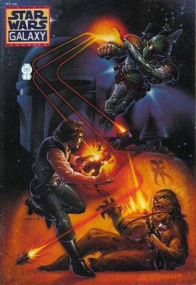 Star Wars Galaxy Magazine #1 – 13 + Extras (1994-1998)
