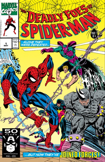 The Deadly Foes of Spider-Man #1 – 4 (1991)
