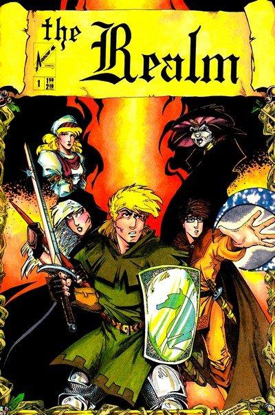 The Realm Vol.1 #1 – 21 (1986-1991)