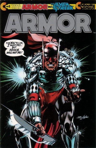 Armor #1 – 13 (1985-1992)