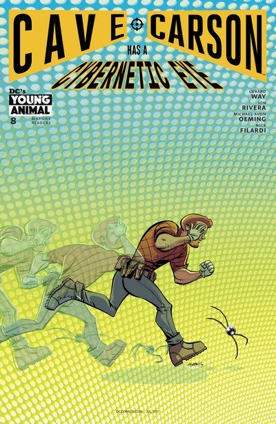 Cave Carson Has a Cybernetic Eye #8 (2017)