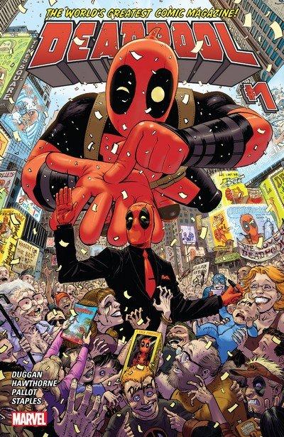 Deadpool Vol. 4 #1 – 30 + Annual #1 (2016-2017)