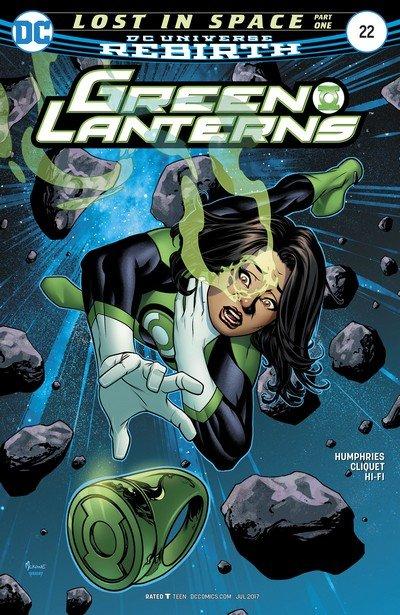 Green Lanterns #22 (2017)