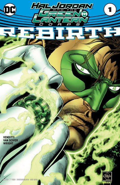 Hal Jordan and the Green Lantern Corps – Rebirth #1 + #1 – 21 (2016-2017)
