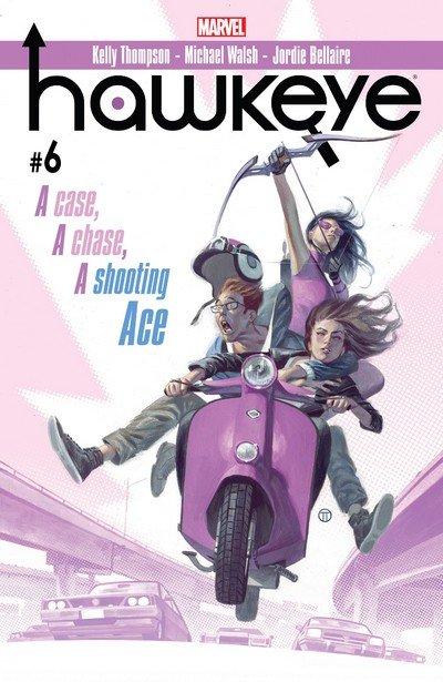 Hawkeye #6 (2017)