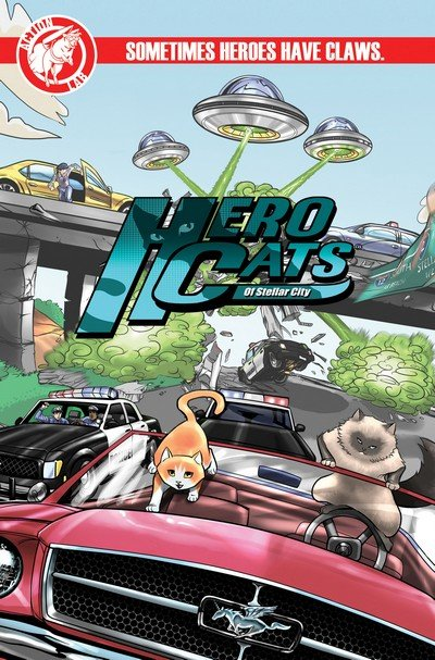Hero Cats #1 – 16 + TPB Vol. 1 – 3 (2014-2017)