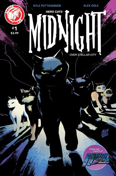 Hero Cats – Midnight Over Stellar City Vol. 2 #1 (2017)