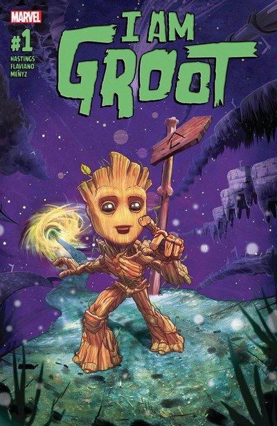 I Am Groot #1 – 5 (2017)