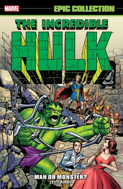 Incredible Hulk Epic Collection – Man Or Monster (2015)