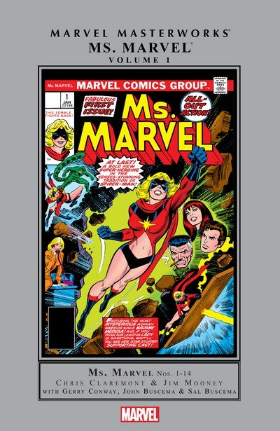 Marvel Masterworks – Ms. Marvel Vol. 1 (2014)