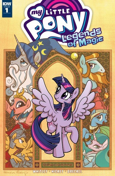 My Little Pony – Legends of Magic #1 (2017)