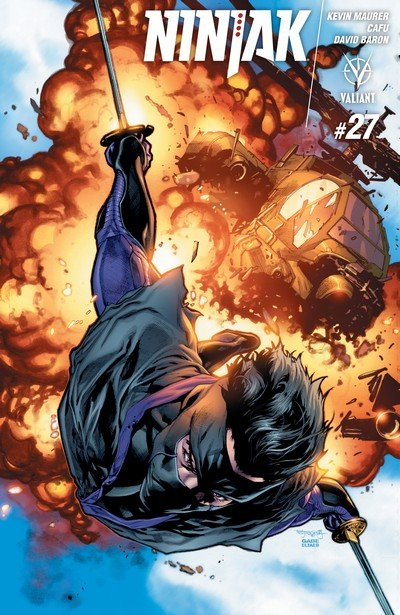 Ninjak #27 (2017)