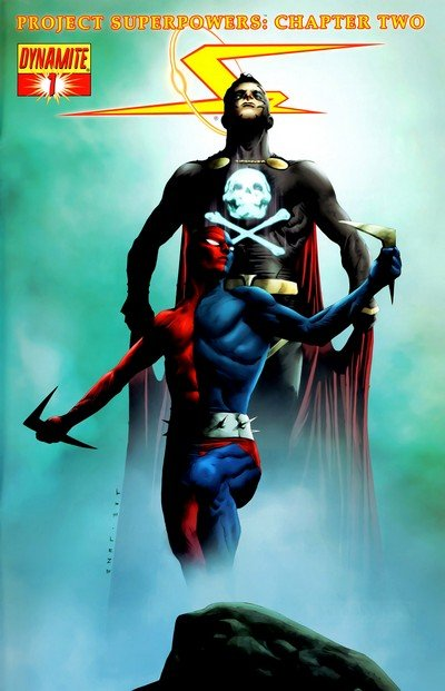 Project Superpowers – Chapter Two (Prelude + #1 – 12) (2008-2010)
