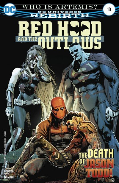 Red Hood & the Outlaws #10 (2017)