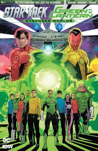Star Trek Green Lantern Vol. 2 #6 (2017)