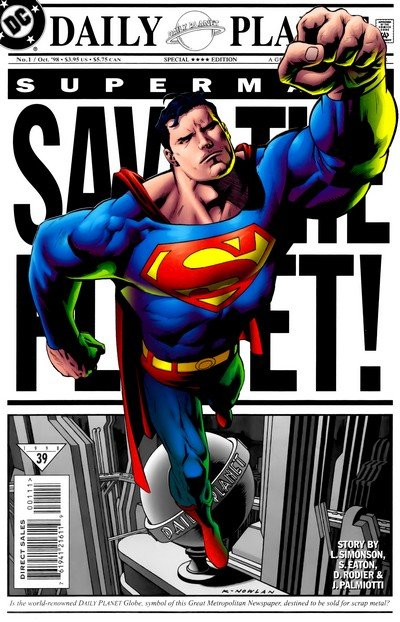 Superman – Save the Planet #1 (1998)