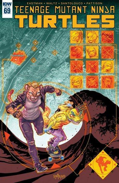Teenage Mutant Ninja Turtles #69 (2017)