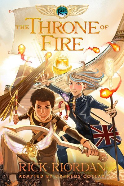 The Kane Chronicles – The Throne of Fire (2016)