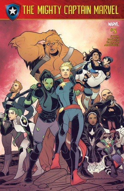 The Mighty Captain Marvel #5 (2017)