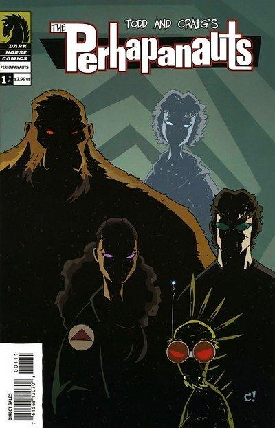 The Perhapanauts #1 – 4 (2005-2006)