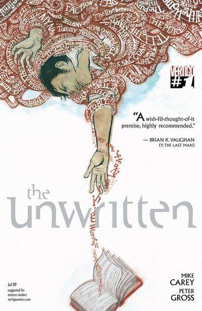 The Unwritten #1 – 54 (2009-2013)