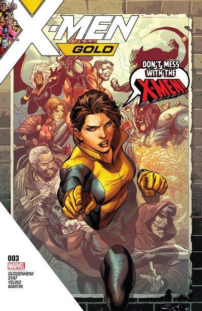 X-Men Gold #3 (2017)