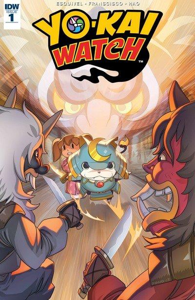 Yo-Kai Watch #1 (2017)