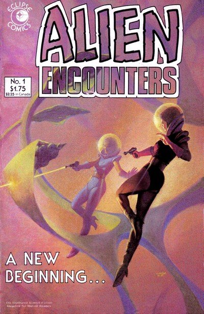 Alien Encounters #1 – 14 (1985-1987)