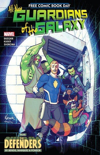 All-New Guardians Of The Galaxy #1 (FCBD 2017)