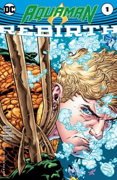 Aquaman – Rebirth #1 + #1 – 24 (2016-2017)
