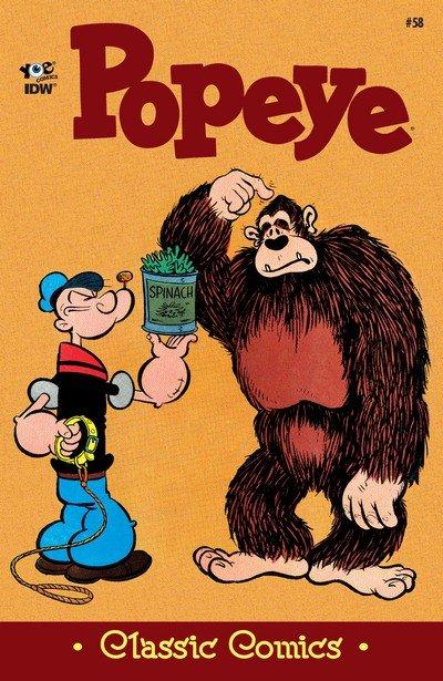 Classic Popeye #58 (2017)