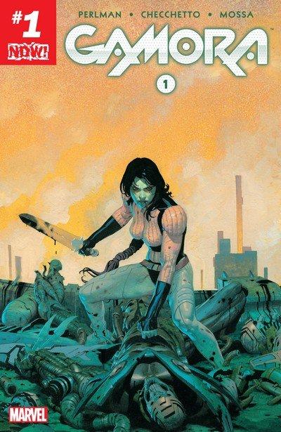 Gamora #1 – 5 (2017)