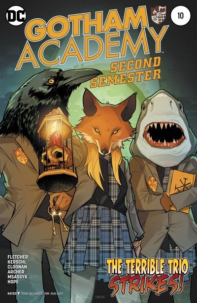Gotham Academy – Second Semester #10 (2017)