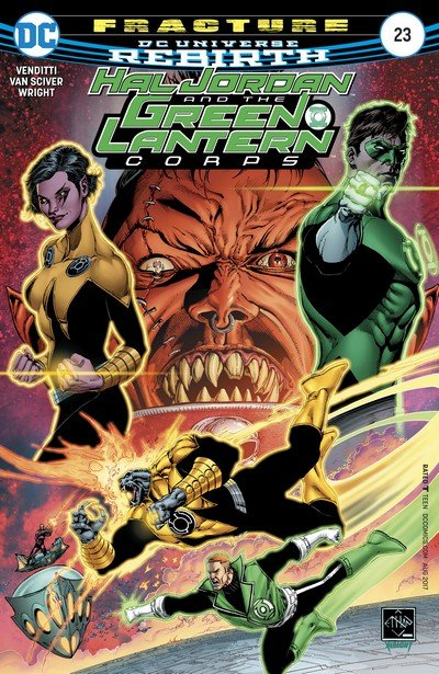 Hal Jordan and the Green Lantern Corps #23 (2017)