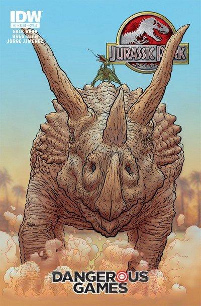 Jurassic Park – Dangerous Games #1 – 5 + TPB (2011-2012)