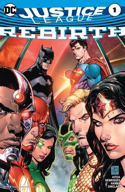 Justice League – Rebirth #1 + #1 – 43 (2016-2018)