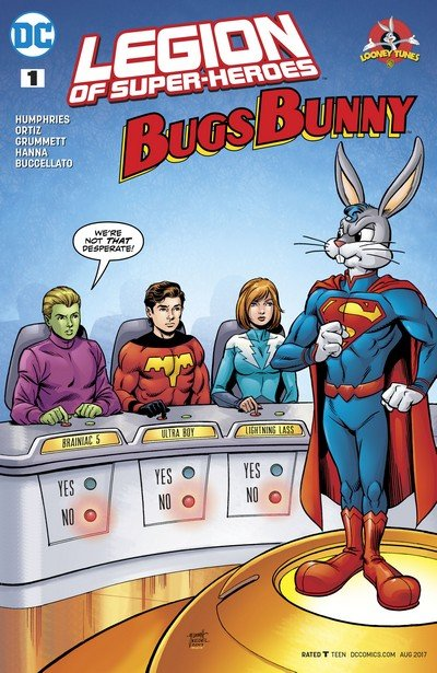 Legion of Super Heroes – Bugs Bunny Special #1 (2017)