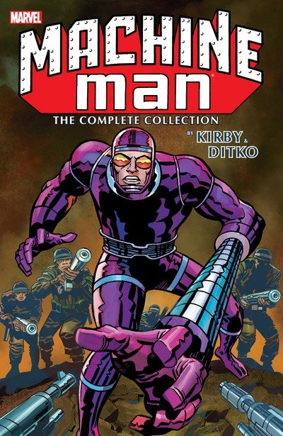 Machine Man by Kirby & Ditko – The Complete Collection (2016)