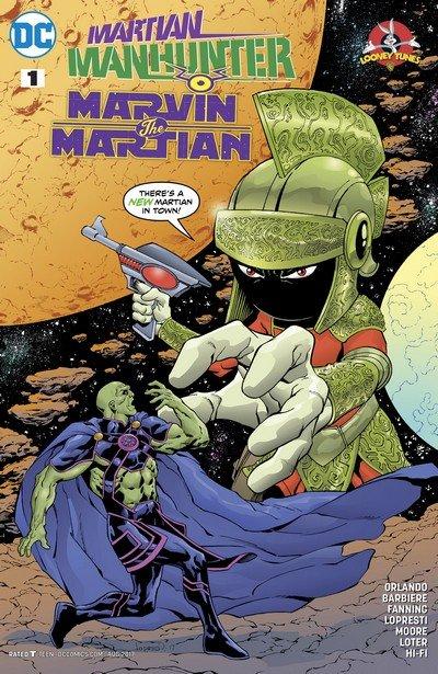 Martian Manhunter – Marvin the Martian Special #1 (2017)