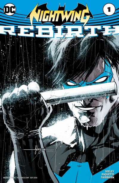 Nightwing – Rebirth #1 + #1 – 21 (2016-2017)
