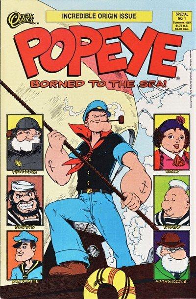 Popeye Special #1 – 2 (1987-1988)