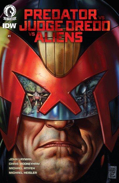Predator vs. Judge Dredd vs. Aliens #1 – 4 (2016-2017)