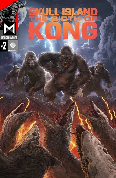 Skull Island The Birth Of Kong #2 (2017)
