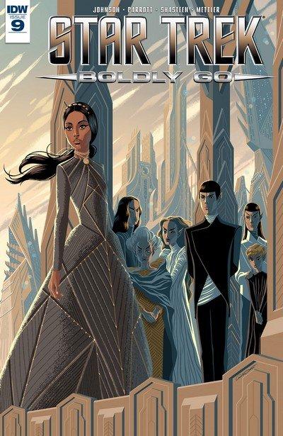 Star Trek Boldly Go #9 (2017)