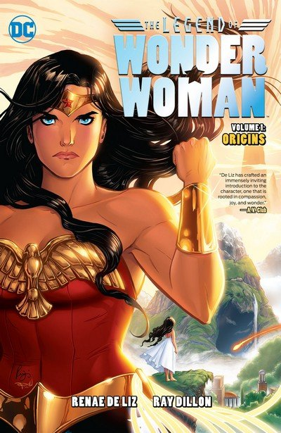 The Legend of Wonder Woman Vol. 1 – Origins (2016)